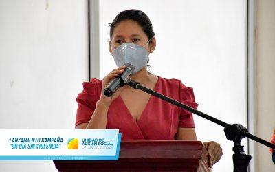 "ALCALDE  FREIRE OFICIALIZÓ CAMPAÑA ""YO VIVO UN DÍA SIN VIOLENCIA"""